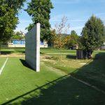 Un muro speciale per l'allenamento dei portieri della Nazionale